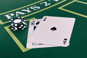 räkna kort i blackjack