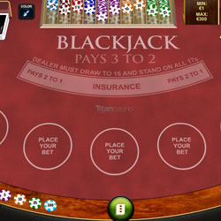 blackjack på nätet