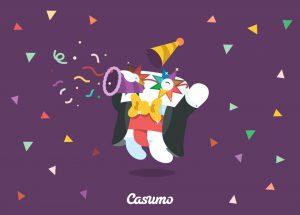 nyår casino casumo free spins