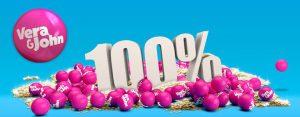 Vera & John 100% i bonus