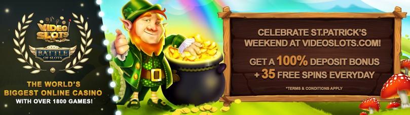 St Patricks Day casino bonus