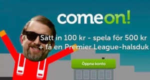 ComeOne Premier League halsduk