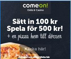 comeon pizza