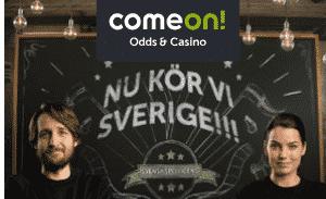 Svensk spellicens comeon