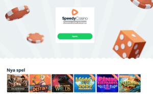Speedy casino hemsida